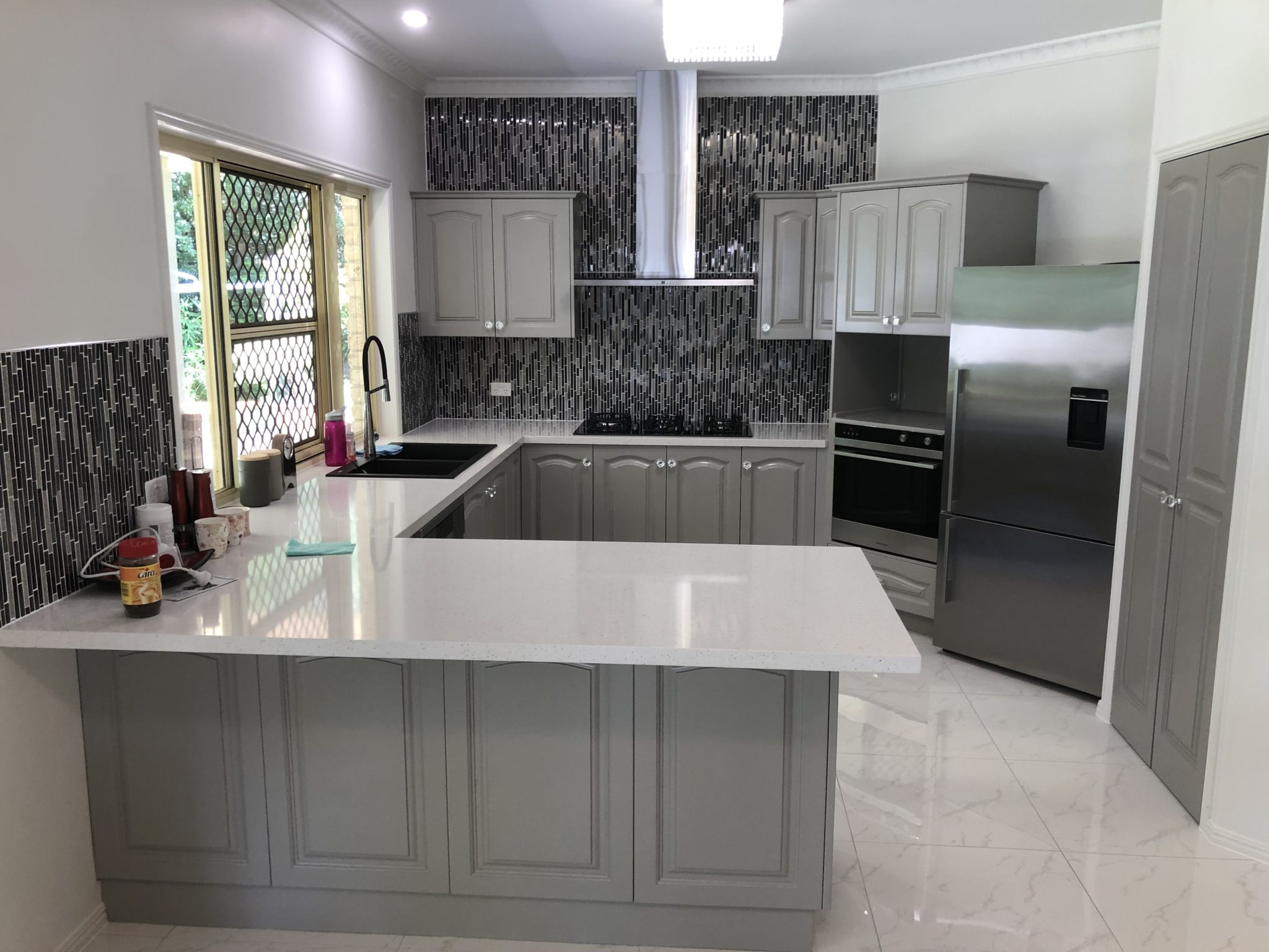 Edge Resurfacing Kitchen Makeover